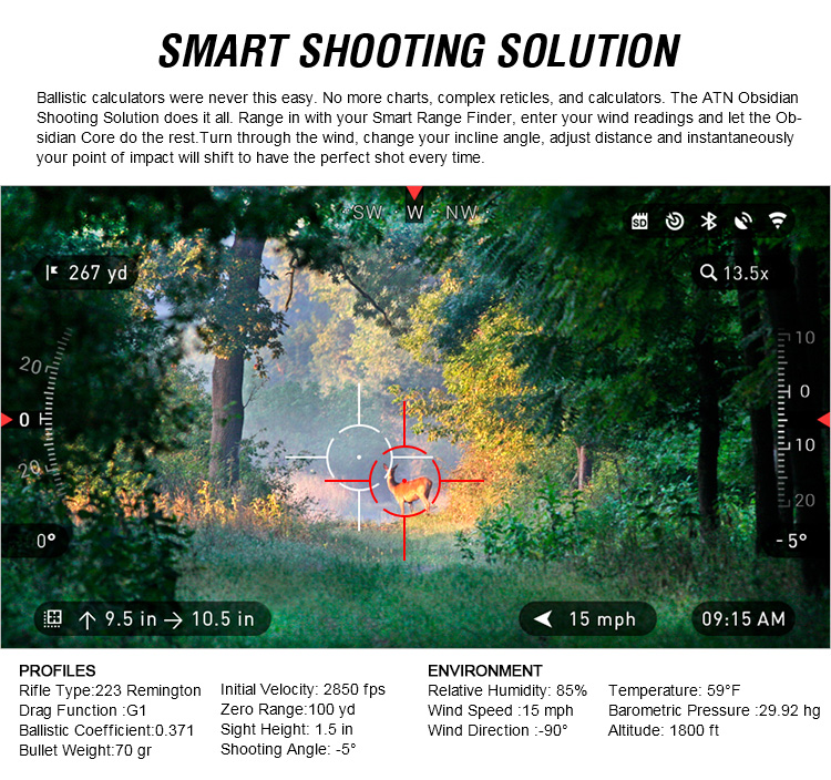 smart shooting solution